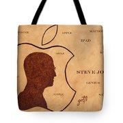 Tribute To Steve Jobs Tote Bag