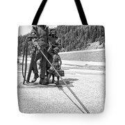 Tribute To The Mining Family - Wallace Idaho Tote Bag