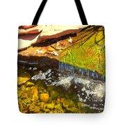 Trickle Waterfall Tote Bag