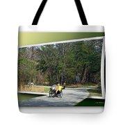 Trike Wave Tote Bag