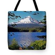 Trillium Lake At Mt. Hood II Tote Bag