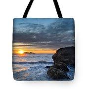 Trinidad Sunset In Autumn Tote Bag