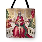 Trinity And Christ Tote Bag