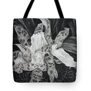 Triple Orchid Blossom Tote Bag