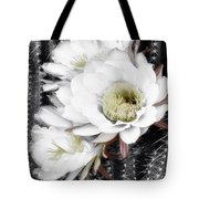 Triple Torch Cactus Tote Bag