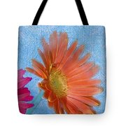 Triptych Gerbera Daisies-three Tote Bag