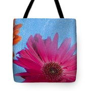 Triptych Gerbera Daisies-two Tote Bag