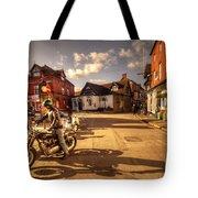 Triumph In Much Wenlock  Tote Bag