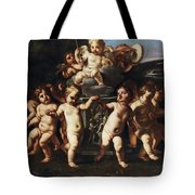 Triumph Of Cupid Tote Bag