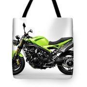 Triumph Speed Triple Motorcycle Tote Bag