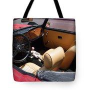Triumph Tr6 Seats Tote Bag