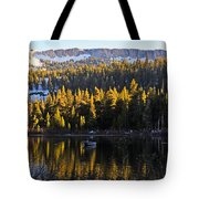Trolling On Twin Lakes Tote Bag