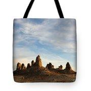 Trona Pinnacles 3 Tote Bag