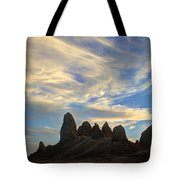 Trona Pinnacles Windswept Tote Bag