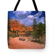 Tropic Canyon In Bryce Canyon Park Tote Bag