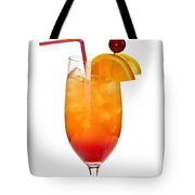Tropical Cocktail Tote Bag by Elena Elisseeva