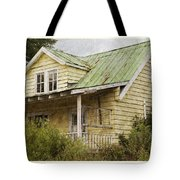 Tropical Cottage Tote Bag
