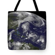 Tropical Cyclones Katia, Lee, Maria Tote Bag
