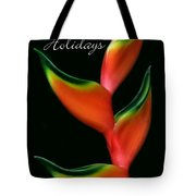 Tropical Holiday Card Tote Bag