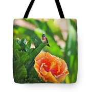 Tropical Hummer Tote Bag