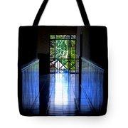 Tropical Lighting Tote Bag