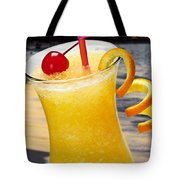 Tropical Orange Drink Tote Bag