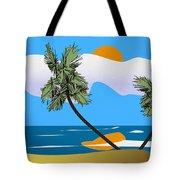 Tropical Outlook Tote Bag