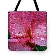 Tropical Rose Tote Bag by Susan Herber