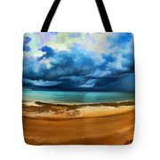 Tropical Seasonal Monsoon Rain V2 Tote Bag