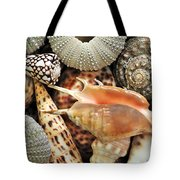 Tropical Shells Tote Bag