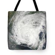 Tropical Storm Muifa Over China Tote Bag