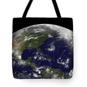 Tropical Storms On Planet Earth Tote Bag