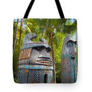 Tropical Tikis Tote Bag