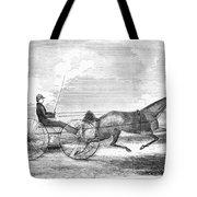 Trotting Horse, 1853 Tote Bag