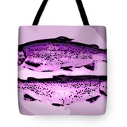 Trout For Lunch Tote Bag