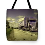 Truck On  Tote Bag