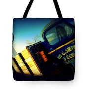 Truck On Route 66 Tote Bag