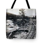 Truckee River - California Looking Toward Donner Lake - C 1865 Tote Bag