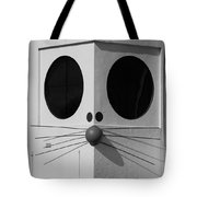 Truly Nolen Rat In Black And White Tote Bag by Rob Hans