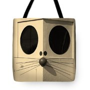 Truly Nolen Rat In Sepia Tote Bag