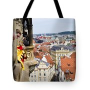 Trumpeter - Prague Old Town Square Tote Bag