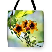 Trumpeting Spring Tote Bag