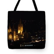 Truro Cathedral Illuminated Tote Bag