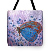 Trust Butterfly Tote Bag