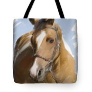 Trusted Steed Tote Bag