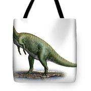 Tsintaosaurus Spinorhinus Tote Bag
