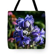Tube Clematis Blossoms Tote Bag
