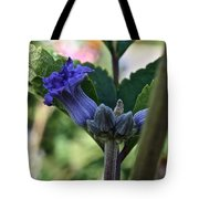 Tube Clematis Tote Bag