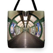 Tube Tunnel Tote Bag