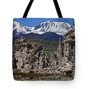 Tufa At Mono Lake California Tote Bag